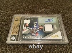 2012 Absolute Russell Wilson RC Star Gazing Patch Auto /49 BGS 9.5 With10 AUTO MVP