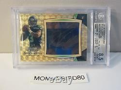 2012 Bowman Sterling Relics Jumbo Superfractors Russell Wilson Auto RC 1/1, BGS
