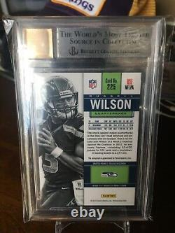 2012 Contenders Russell Wilson Rookie Ticket Auto Autograph /550 BGS 9/10