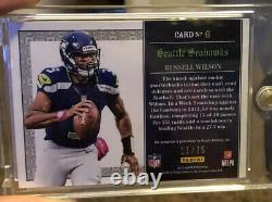 2012 Limited Russell Wilson RC Membership RC Auto Rare #/25 Seahawks MVP
