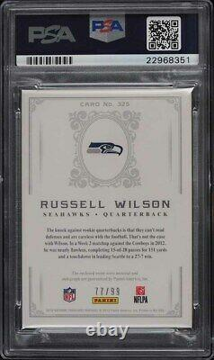 2012 National Treasures Russell Wilson ROOKIE RC PATCH /99 PSA 10 AUTO PSA 10