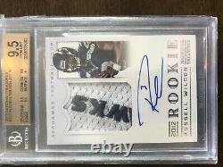 2012 National Treasures Russell Wilson Rpa Rc Patch Auto Bgs 9.5 59/99 True Pmjs