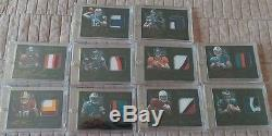 2012 Panini Black RPA Set/349 Andrew Luck Russell Wilson Osweiler RG3 Auto RC