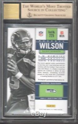 2012 Panini Contenders #225A Russell Wilson RC Auto /550 BGS 9.5 GEM MINT