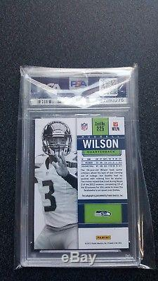 2012 Panini Contenders ROOKIE TICKET WHITE Russell Wilson SP RC AUTO PSA 10