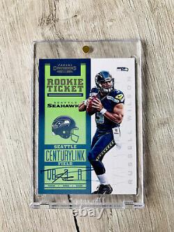 2012 Panini Contenders Russell Wilson Autograph Rookie Auto RC
