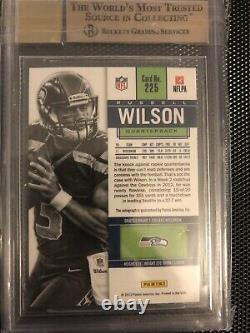2012 Panini Contenders Russell Wilson RC Auto BGS 9.5/10