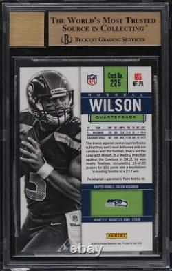 2012 Panini Contenders Russell Wilson ROOKIE RC AUTO #225 BGS 9.5 GEM MT