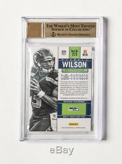2012 Panini Contenders Russell Wilson ROOKIE RC AUTO #225 BGS 9.5 GEM MT 1/1