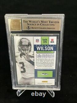 2012 Panini Contenders Russell Wilson Rookie Auto white jersey SP RC