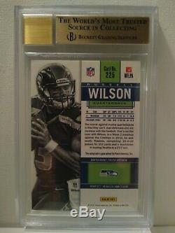 2012 Panini Contenders Russell Wilson Rookie Ticket Auto #225A