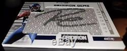 2012 Panini Gridiron Gems #320 RUSSELL WILSON Pull-Out Jersey Relic RC Auto /299