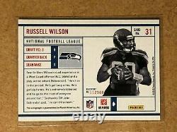 2012 Panini Prestige Russell Wilson #31 Rookie Passport Auto