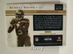 2012 Panini Prominence Russell Wilson Auto 47/150 Rookie Card. Real Nice