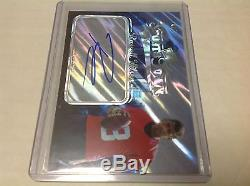 2012 Press Pass Russell Wilson Auto 4/5 Rc Sports Town Edition Seahawks