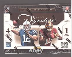 2012 Prime Signatures Football Hobby Box (possible Russell Wilson Auto Rookie)