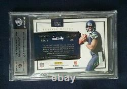 2012 Prominence Russell Wilson Rookie Patch Auto #235 SP /150 BGS 9 MINT 10 Auto