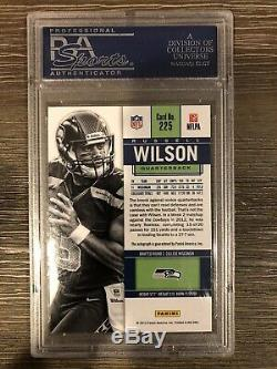 2012 Russell Wilson Contenders Auto