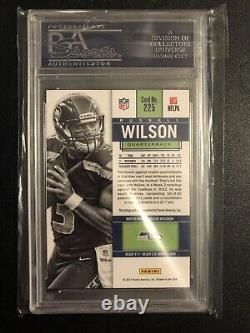 2012 Russell Wilson Contenders Auto RC PSA 10 Gem Mint Short Printed /550 Rookie