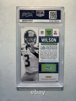 2012 Russell Wilson Contenders Auto White Jersey Variation /25 RC PSA 10 Gem MT