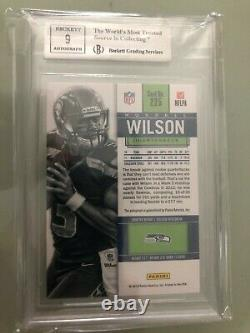 2012 Russell Wilson Contenders RC Auto BGS 9 9/9/9.5/9.5 Seahawks