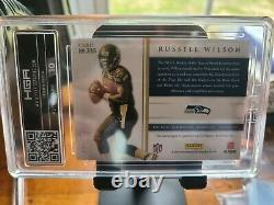 2012 Russell Wilson HGA 9 Prominence Rookie Class Signatures Auto #235 121/150