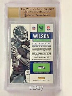 2012 Russell Wilson Panini Contenders ROOKIE Ticket /550 RC BGS 9.5/10 AUTO