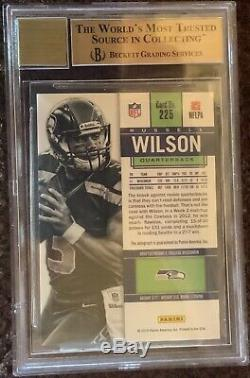 2012 Russell Wilson Panini Contenders Rookie Ticket Auto