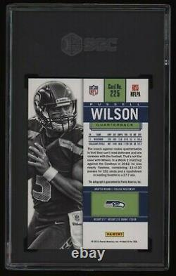 2012 Russell Wilson SGC 9 Panini Contenders Auto Autograph Rookie Rc NICE
