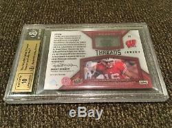 2012 SP Authentic Russell Wilson RC Jersey Auto /335 BGS 9.5 GEM MINT With10 AUTO