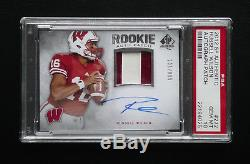 2012 Sp Authentic Auto Patch #272 Russell Wilson Psa 10