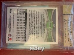 2012 Topps Chrome Russell Wilson Auto RC BGS 9.5 10 Auto