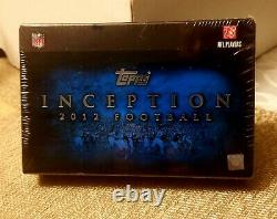 2012 Topps Inception Football Box. Factory Sealed. Possible Wilson Auto RC