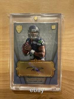 2012 Topps Supreme RUSSELL WILSON auto autograph RC rookie #43/50