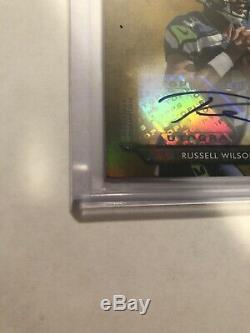 2012 Topps Triple Threads Russell Wilson Seahawks RC Rookie Jersey AUTO /25