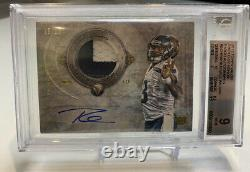 2012 Topps Valor Russell Wilson Shield Of Honor Patch Auto RPA /26 BGS 9