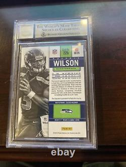 2012 contenders Russell Wilson RC Auto GM 9.5 Seahawks