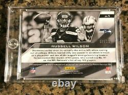 2013 Panini Spectra #5 Russell Wilson Jersey RPA On Card Auto Seahawks SP # /10