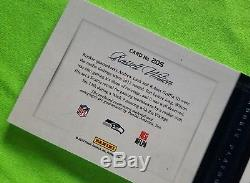 2013 Playbook Russell Wilson ROOKIE Patch Auto BOOK PLATINUM Parallel 06/25