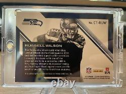 2015 Panini Clear Vision Russell Wilson C-Thru Signatures Auto Autograph /25