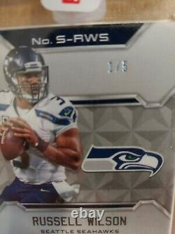 2016 Panini Spectra Russell Wilson /5 EBay 1 Of 1 Sealed Auto Seahawks