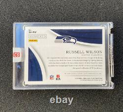 2018 Immaculate Moments Russell Wilson Auto 01/10! Sealed Seahawks