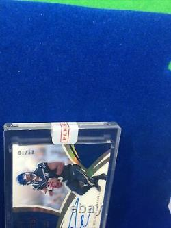 2018 Panini Immaculate Russell Wilson Moments On Card Auto Ssp#/10 Pro Bowl Mvp