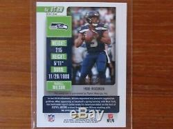2018 Panini Optic Contenders RUSSELL WILSON Ticket Auto #4/25 SP