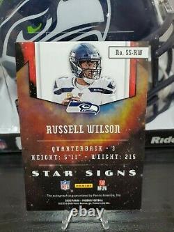 2020 Phoenix Star Signs Russell Wilson Auto
