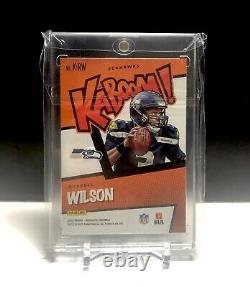 2020 Russel Wilson Panini Absolute Kaboom Refractor Non Auto Non Rookie Mint SSP