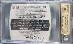 Bgs 9.5 2012 Finest Russell Wilson Rc (1/1) Jumbo Jersey Superfractor Auto 10