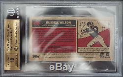Bgs 9.5 2012 Topps Russell Wilson #152 1965 Mini Autographs Auto 10 True Gem++