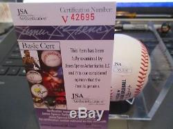 JSA Authentic Signed Russell Wilson John 330 Auto Major League Baseball