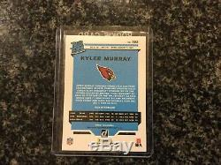 Kyler Murray 2019 Donruss Football Rated Rookie Canvas Auto 3/10 Cardinals